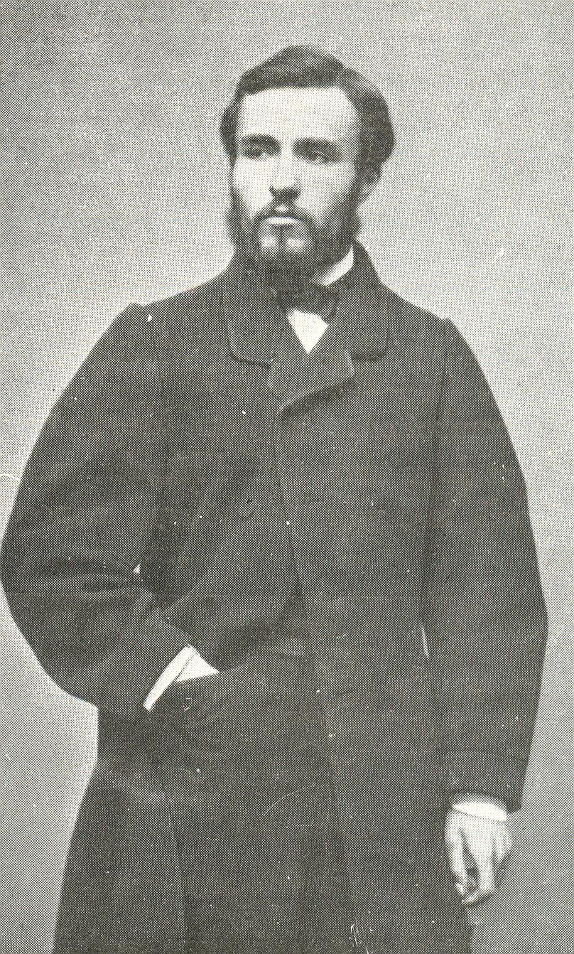 Clemenceau à 24 ans -1865