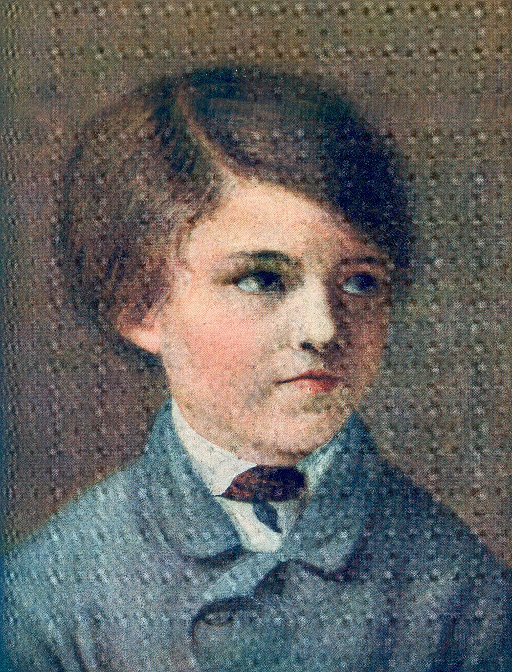Georges Clemenceau peint par son père