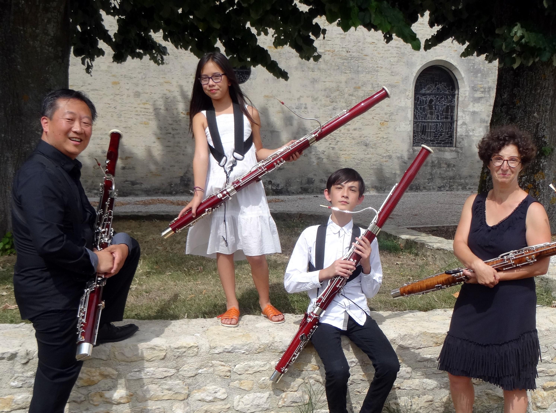 """Quatuor """"Bassoon Project"""""""